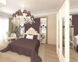 modern Bedroom by Meral Akçay Konsept ve Mimarlık