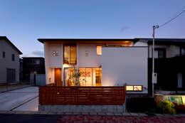 外観(南面): H建築スタジオが手掛けた家です。