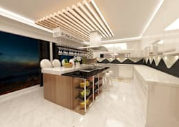 Meral Akçay Konsept ve Mimarlık – Feng Shui Uygulama: modern tarz Mutfak