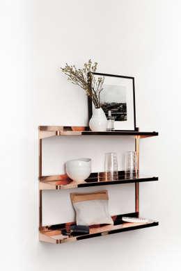 Projekty,  Salon zaprojektowane przez minimum einrichten GmbH