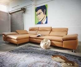 Sofas von DELIFE - Eine Leidenschaft!: moderne Wohnzimmer von DELIFE