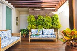 Varanda: Terraços  por Rafaela Dal'Maso Arquitetura