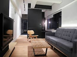 Salas de estilo minimalista por OneByNine