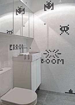 modern Bathroom by OneByNine