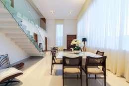 minimalistic Dining room by Tony Santos Arquitetura