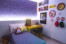 Dormitorios infantiles de estilo moderno por Rafaela Dal'Maso Arquitetura