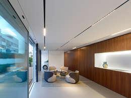 modern Living room by WERNER SOBEK