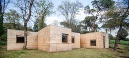 Casas de estilo moderno por Alventosa Morell Arquitectes
