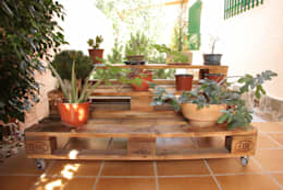 สวน by ECOdECO Mobiliario