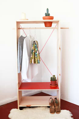 Recámaras de estilo minimalista por Katleen Roggeman