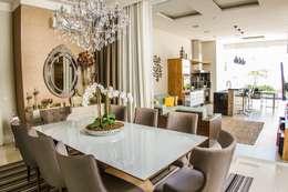 Projeto HP 03: Salas de jantar modernas por HAUS