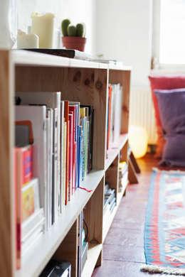 minimalistic Living room تنفيذ Katleen Roggeman