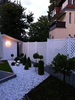 Jardines de estilo clásico de Ogrodzenia Radosław Sycz
