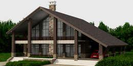 Casas de estilo rústico por Quality Metric