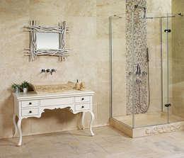 BAYYURT  – DECOZONE: kırsal tarz tarz Banyo
