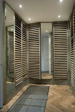 Renovatie en verbouwing woonhuis te Amsterdam: rustieke & brocante Kleedkamer door Kodde Architecten bna