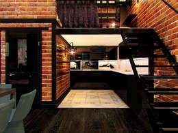 Квартира в стиле LOFT в Москве: Кухни в . Автор – Anna Vladimirova