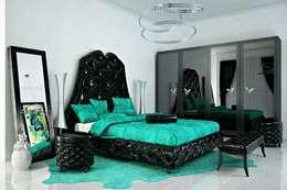 Спальни в стиле артдеко: Спальная комната  в . Автор – Design studio of Stanislav Orekhov. ARCHITECTURE / INTERIOR DESIGN / VISUALIZATION.