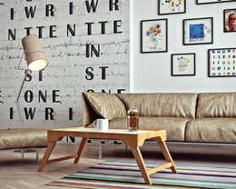 scandinavische Woonkamer door ILKINGURBANOV Studio