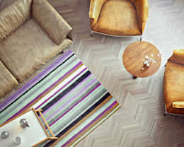 scandinavian Living room by ILKINGURBANOV Studio