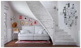 Квартира в Баку в скандинавском стиле: Коридор и прихожая в . Автор – ILKINGURBANOV Studio