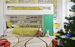 غرفة الاطفال تنفيذ ILKINGURBANOV Studio