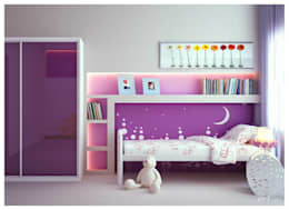 modern Nursery/kid's room by ILKINGURBANOV Studio