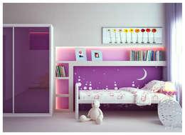 ILKINGURBANOV Studio: modern tarz Çocuk Odası