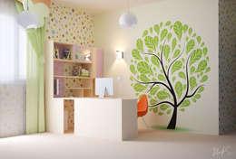 Dormitorios infantiles de estilo moderno por ILKINGURBANOV Studio