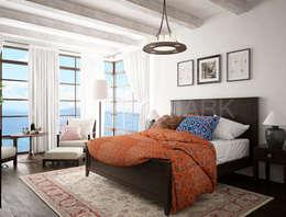 House in Trogir, Croatia: Спальни в . Автор – NEUMARK