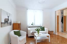Better Home: iskandinav tarz tarz Oturma Odası