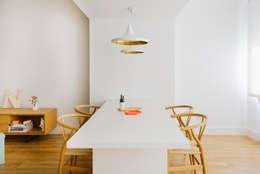 modern Dining room by nimú equipo de diseño