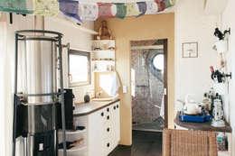 minimalistische Keuken door Wohnwagon