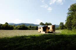 moderne Huizen door Wohnwagon