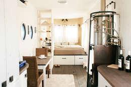 minimalistische Eetkamer door Wohnwagon