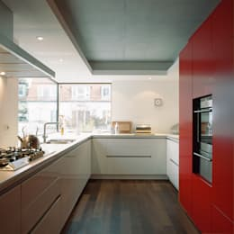 Projekty,  Kuchnia zaprojektowane przez Löffler Weber | Architekten