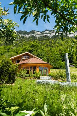 moderne Huizen door Visions Haus