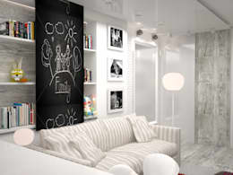 industrial Nursery/kid's room by DS Fresco