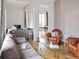 modern Living room by Marion Lanoë Architecte d'Intérieur