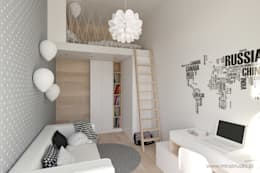 scandinavian Nursery/kid's room by MIRAI STUDIO