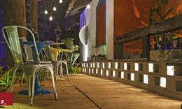 eclectic Garden by Fadel Arquitetura