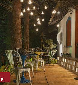 Morar Mais por Menos 2014: Jardins ecléticos por Fadel Arquitetura