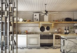 scandinavian Kitchen by Nuevo Tasarım