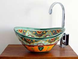 mediterranean Bathroom by Mexambiente e.K.