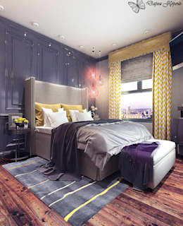 Bedroom for a young man: Спальни в . Автор – Your royal design