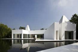 白의 집 _: NEED21 ASSOCIATES의  주택