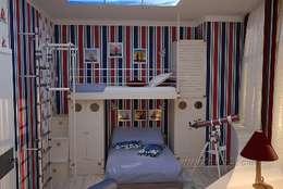 classic Nursery/kid's room by студия Design3F