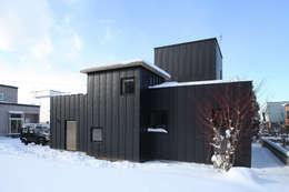 外観3: 石塚和彦アトリエ一級建築士事務所が手掛けた家です。