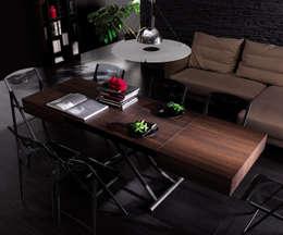 minimalistic Dining room by Livarea