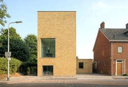 Woonhuis Bedaux-Nagengast: moderne Huizen door Bedaux de Brouwer Architecten
